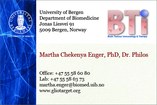 Businesscard Martha_business card